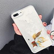 Недорогие Кейсы для iPhone 8 Plus-Кейс для Назначение Apple iPhone X iPhone 7 Plus Движущаяся жидкость С узором Кейс на заднюю панель Мультипликация Мягкий ТПУ для iPhone