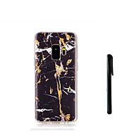 Недорогие Чехлы и кейсы для Galaxy S8 Plus-Кейс для Назначение SSamsung Galaxy S9 S9 Plus С узором Кейс на заднюю панель Мрамор Мягкий ТПУ для S9 Plus S9 S8 Plus S8 S7 edge S7