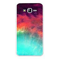 Недорогие Чехлы и кейсы для Galaxy J5(2016)-Кейс для Назначение SSamsung Galaxy J7 (2017) J7 (2016) С узором Кейс на заднюю панель Пейзаж Градиент цвета Мультипликация Мягкий ТПУ для