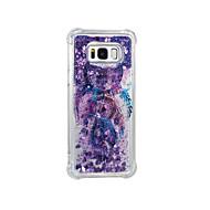 Недорогие Чехлы и кейсы для Galaxy S8-Кейс для Назначение SSamsung Galaxy S8 Plus S8 Движущаяся жидкость С узором Кейс на заднюю панель Ловец снов Мягкий ТПУ для S8 Plus S8 S7