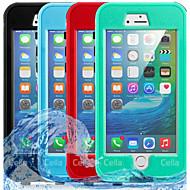 Недорогие Кейсы для iPhone 8-Кейс для Назначение Apple iPhone 8 iPhone 7 Защита от влаги Чехол Однотонный Твердый ПК для iPhone 8 Pluss iPhone 8 iPhone 7 Plus iPhone