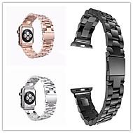 cheap Cell Phone Accessories-Watch Band for Apple Watch Series 4/3/2/1 Apple Butterfly Buckle Stainless Steel Wrist Strap
