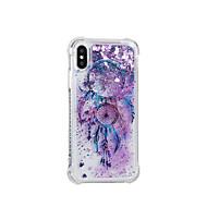 Недорогие Кейсы для iPhone 8-Кейс для Назначение Apple iPhone X iPhone 8 Движущаяся жидкость С узором Кейс на заднюю панель Ловец снов Мягкий ТПУ для iPhone 8 Pluss