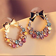 Stud Earrings - Bowknot Simple, Classic, Sweet Gold For Daily