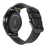 Недорогие Аксессуары для смарт-часов-Ремешок для часов для Gear S3 Frontier / Gear S3 Classic / Gear S3 Classic LTE Samsung Galaxy Современная застежка Натуральная кожа Повязка на запястье