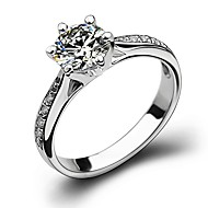 Mulheres Cobre Floco de Neve Anéis para Falanges - Clássico / Fashion Prata Anel Para Casamento / Festa