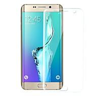 Недорогие Чехлы и кейсы для Galaxy S-Защитная плёнка для экрана Samsung Galaxy для S6 edge TPG Hydrogel 1 ед. Защитная пленка для экрана Против отпечатков пальцев Защита от