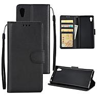 preiswerte Handyhüllen-Hülle Für Sony Xperia XA1 Plus Xperia XA1 Kreditkartenfächer Geldbeutel Stoßresistent Flipbare Hülle Ganzkörper-Gehäuse Solide Hart