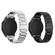 Недорогие Часы для Samsung-Ремешок для часов для Gear S3 Frontier Samsung Galaxy Спортивный ремешок Нержавеющая сталь Повязка на запястье