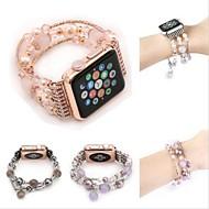 Watch Band na Apple Watch Series 4/3/2/1 Jabłko Design biżuterii Ceramika Opaska na nadgarstek