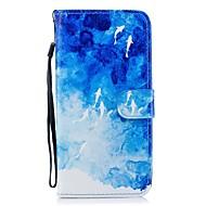 Недорогие Чехлы и кейсы для Galaxy S9-Кейс для Назначение SSamsung Galaxy S9 Plus S8 Plus Бумажник для карт Кошелек со стендом Флип С узором Чехол Животное Твердый Кожа PU для