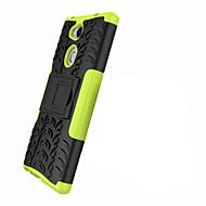 preiswerte Handyhüllen-Hülle Für Sony Xperia XZ2 Xperia L2 Stoßresistent mit Halterung Rüstung Rückseite Anwendung Rüstung Hart PC für Xperia XZ2 Compact Xperia
