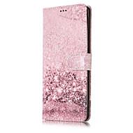 olcso Galaxy Note tokok-Case Kompatibilitás Samsung Galaxy Note 8 Kártyatartó Állvánnyal Flip Héjtok Színátmenet Márvány Virág Kemény PU bőr mert Note 8