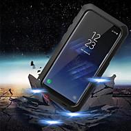 Недорогие Чехлы и кейсы для Galaxy S6 Edge Plus-Кейс для Назначение SSamsung Galaxy S9 S9 Plus Защита от влаги Защита от удара Чехол броня Твердый Металл для S9 Plus S9 S8 Plus S8 S7