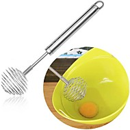 お買い得  キッチン用小物-キッチンツール ステンレス ホームキッチンツール 泡立て器 卵のための / アイスクリーム 1個