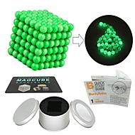cheap Toy & Game-216 pcs Magnet Toy Magnetic Balls / Magnet Toy / Building Blocks Magnetic / Glow-in-the-dark Stress and Anxiety Relief / Office Desk Toys / Relieves ADD, ADHD, Anxiety, Autism Novelty All Adults' Gift