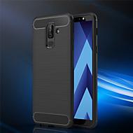 tanie Etui / Pokrowce do Samsunga Galaxy A-Kılıf Na Samsung Galaxy A6+ (2018) / A6 (2018) Szron Czarne etui Jendolity kolor Miękkie TPU na A6 (2018) / A6+ (2018) / A8 2018