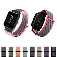 Недорогие Ремешки для часов Xiaomi-Ремешок для часов для Huami Amazfit Bip Younth Watch Xiaomi Современная застежка Нейлон Повязка на запястье