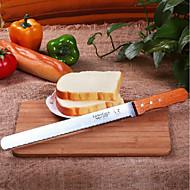 お買い得  キッチン用小物-ベークツール ステンレス鋼 / ウッド 多機能 / クリエイティブキッチンガジェット パン ケーキカッター 1個