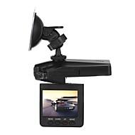 Недорогие Видеорегистраторы для авто-H198 1080p Ночное видение Автомобильный видеорегистратор 90° Широкий угол 2.4 дюймовый LCD Капюшон с Ночное видение 6 инфракрасных LED
