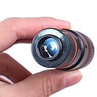abordables Binoculares-8X18mm Monocular Portátil BAK4 Revestimiento Múltiple 250/1000m Senderismo / Camping / Viaje Carcasadeplástico