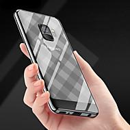 Недорогие Чехлы и кейсы для Galaxy S-Кейс для Назначение SSamsung Galaxy S9 Plus / S9 Покрытие / Ультратонкий / Прозрачный Кейс на заднюю панель Полосы / волосы Мягкий ТПУ для S9 / S9 Plus