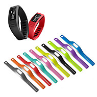 cheap Smartwatch Accessories-Watch Band for Vivofit Garmin Sport Band Silicone Wrist Strap