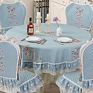 abordables Mantelería-Moderno CLORURO DE POLIVINILO Redondo Forros de Mesa Floral / Estampado Decoraciones de mesa 1 pcs