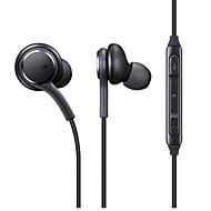 cheap -S8 Earphone Wired Headphones Plastic Mobile Phone Earphone with Volume Control / with Microphone / Stereo Headset