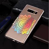 Недорогие Чехлы и кейсы для Galaxy Note-Кейс для Назначение SSamsung Galaxy Note 8 Покрытие / С узором Кейс на заднюю панель Мандала Мягкий ТПУ для Note 8