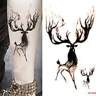 cheap Temporary Tattoos-10 pcs Tattoo Stickers Temporary Tattoos Cartoon Series Body Arts Wrist