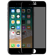 Недорогие Защитные плёнки для экранов iPhone 8-Защитная плёнка для экрана для Apple iPhone 8 Закаленное стекло 1 ед. Защитная пленка на всё устройство 3D закругленные углы / Anti-Spy /