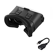 abordables Gafas de Realidad Virtual-vr 3d glasses 2.0 versión juego de película de video de realidad virtual auriculares con otg para teléfono inteligente Android
