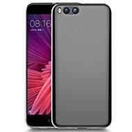 お買い得  携帯電話ケース-ケース 用途 Xiaomi Mi 6 / Mi 6 Plus クリア バックカバー ソリッド ソフト TPU のために Mi 6 Plus / Xiaomi Mi 6