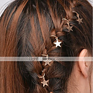 cheap -Women's Simple Hair Clip - Solid Colored Cut Out