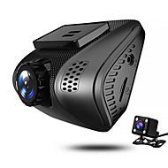 Недорогие Видеорегистраторы для авто-JUEFAN J3 720p / 1080p Ночное видение Автомобильный видеорегистратор 140° Широкий угол 2 дюймовый Капюшон с Обноружение движения 4 инфракрасных LED Автомобильный рекордер / 2.0
