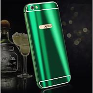 お買い得  携帯電話ケース-ケース 用途 OPPO R9s Plus / R9s メッキ仕上げ バックカバー ソリッド ハード アルミニウム のために Oppo R11 Plus / Oppo R11 / OPPO R9s Plus