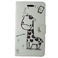Недорогие Чехлы и кейсы для Galaxy S-Кейс для Назначение SSamsung Galaxy S7 Бумажник для карт / Кошелек / со стендом Чехол Мультипликация / Животное Твердый Кожа PU для S7 /