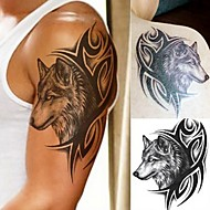cheap Temporary Tattoos-5 pcs Tattoo Stickers Temporary Tattoos Totem Series / Animal Series Body Arts Arm