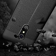 tanie Etui na telefony-Kılıf Na LG K10 2018 Wytłaczany wzór Czarne etui Jendolity kolor Miękkie TPU na LG K10 2018