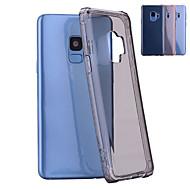 Недорогие Чехлы и кейсы для Galaxy S8-Кейс для Назначение SSamsung Galaxy S9 Plus / S9 Защита от удара / Полупрозрачный Кейс на заднюю панель Однотонный Мягкий ТПУ для S9 / S9