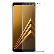 お買い得  Samsung 用スクリーンプロテクター-スクリーンプロテクター のために Samsung Galaxy A8+ 2018 A8 2018 強化ガラス 1枚 スクリーンプロテクター 指紋防止 傷防止 超薄型 防爆 2.5Dラウンドカットエッジ 硬度9H ハイディフィニション(HD)