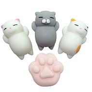preiswerte Spielzeuge & Spiele-Knautsch-Spielzeug / Zum Stress-Abbau Katze / Katzenklaue Others 4pcs Kinder Alles Geschenk