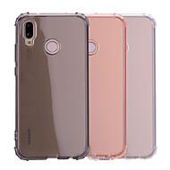 Coque Pour Huawei P20 / P20 lite Antichoc / Transparente / Translucide Coque Couleur Pleine Flexible TPU pour Huawei P20 / Huawei P20 lite
