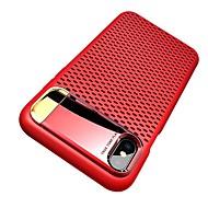 Etui Käyttötarkoitus Apple iPhone X / iPhone 8 Tuella / Pinnoitus / Ultraohut Takakuori Yhtenäinen Kova PC varten iPhone X / iPhone 8 Plus / iPhone 8