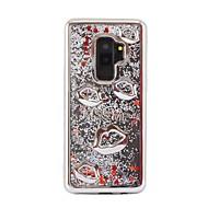 Недорогие Чехлы и кейсы для Galaxy S7-Кейс для Назначение SSamsung Galaxy S9 Plus / S8 Plus Покрытие / Движущаяся жидкость / Сияние и блеск Кейс на заднюю панель Сияние и блеск