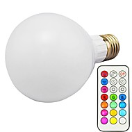 cheap LED Smart Bulbs-1pc 10W 800lm E26 / E27 LED Smart Bulbs G80 18 LED Beads SMD 5730 Dimmable Decorative Remote-Controlled RGBWW RGBW 85-265V