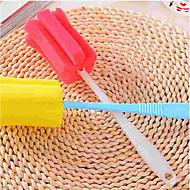 abordables Escobillas y cepillos de mano-Cocina Limpiando suministros Esponja / El plastico Cepillo y Trapo de Limpieza Simple / Protección / Utensilios 1pc