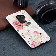 Недорогие Чехлы и кейсы для Galaxy S8-Кейс для Назначение SSamsung Galaxy S9 Plus / S9 С узором Кейс на заднюю панель Цветы Твердый ПК для S9 / S9 Plus / S8 Plus