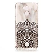 お買い得  携帯電話ケース-ケース 用途 Huawei Enjoy 6A 超薄型 フルボディーケース マーブル ソフト TPU のために Huawei Enjoy 6s